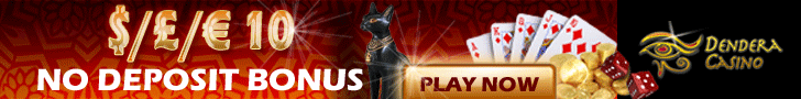 $10 No Deposit at Dendera Online Casino